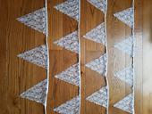 4x krajkové fáborky (3,2 m/kus),