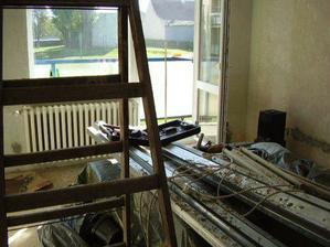 a rekonstrukce začala... hruza :(((