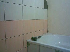 už se dělá nová koupelna...