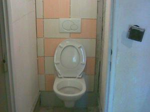 ... a záchod