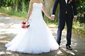 Svatební šaty Maggie Sottero Nora, vel. 34, 34
