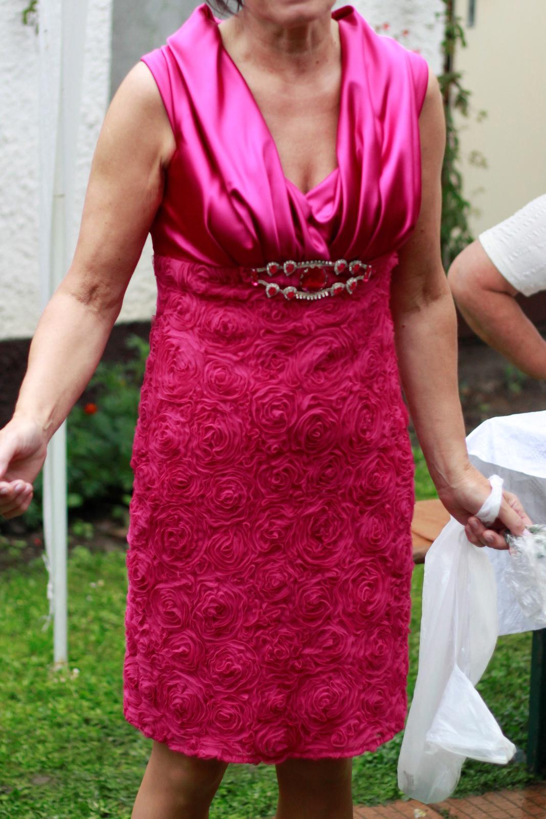 Spoločenské šaty vhodné aj pre svadobnú mamu - Obrázok č. 1