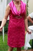 Spoločenské šaty vhodné aj pre svadobnú mamu, L