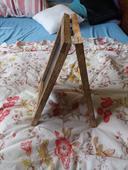 Rustikální tabule - stojan s křídovým fixem,