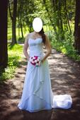 Svatební šaty 36/38, 38