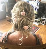svatební ozdoba do vlasů ,