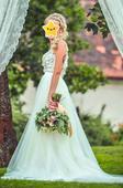 Svatební šaty - Petra Brzková, vel. 34-36, 36