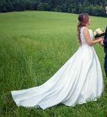 Svadobné šaty vel. 34, 34