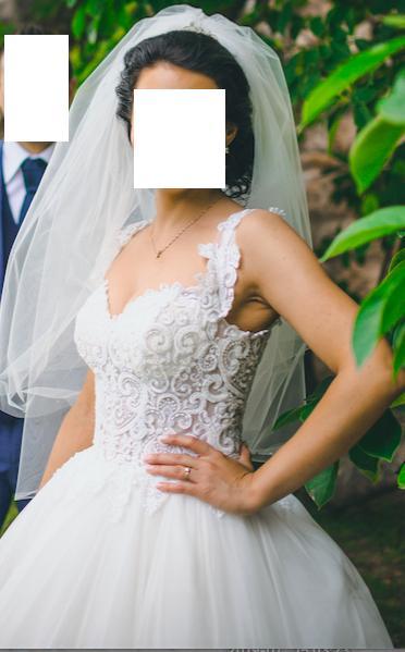 Svadobné šaty IRIAN SAM VENICE 35 veľkosť - Obrázok č. 1