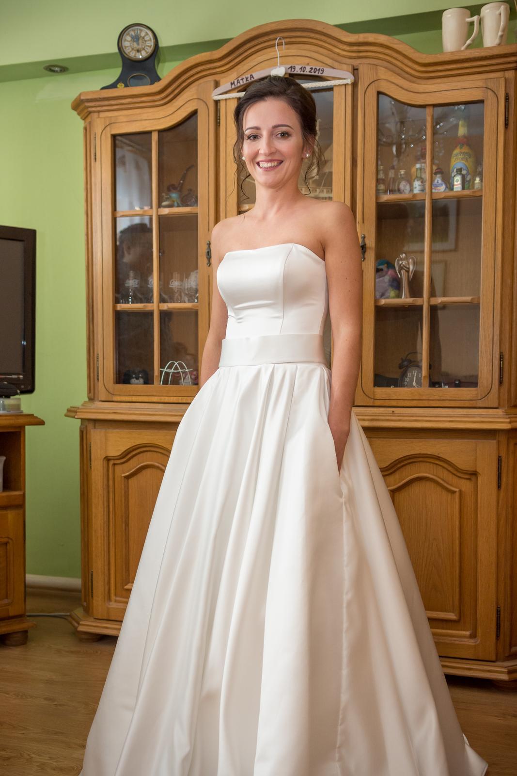 Svadobné šaty 32-38 - Obrázok č. 3