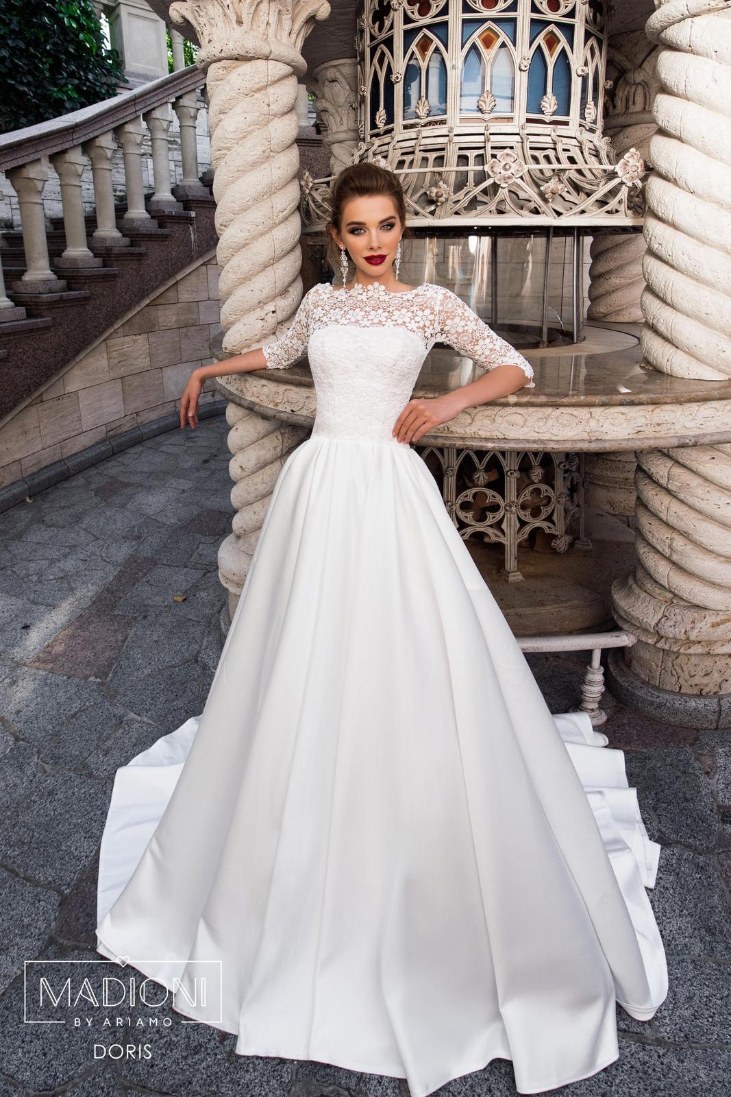 Svadobné šaty 32-38 - Obrázok č. 1