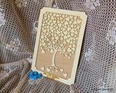 Svatební rámeček se stromem,