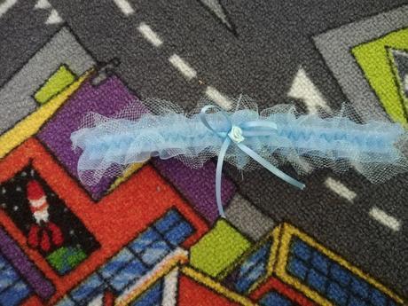 Modrý podvazek - Obrázek č. 1