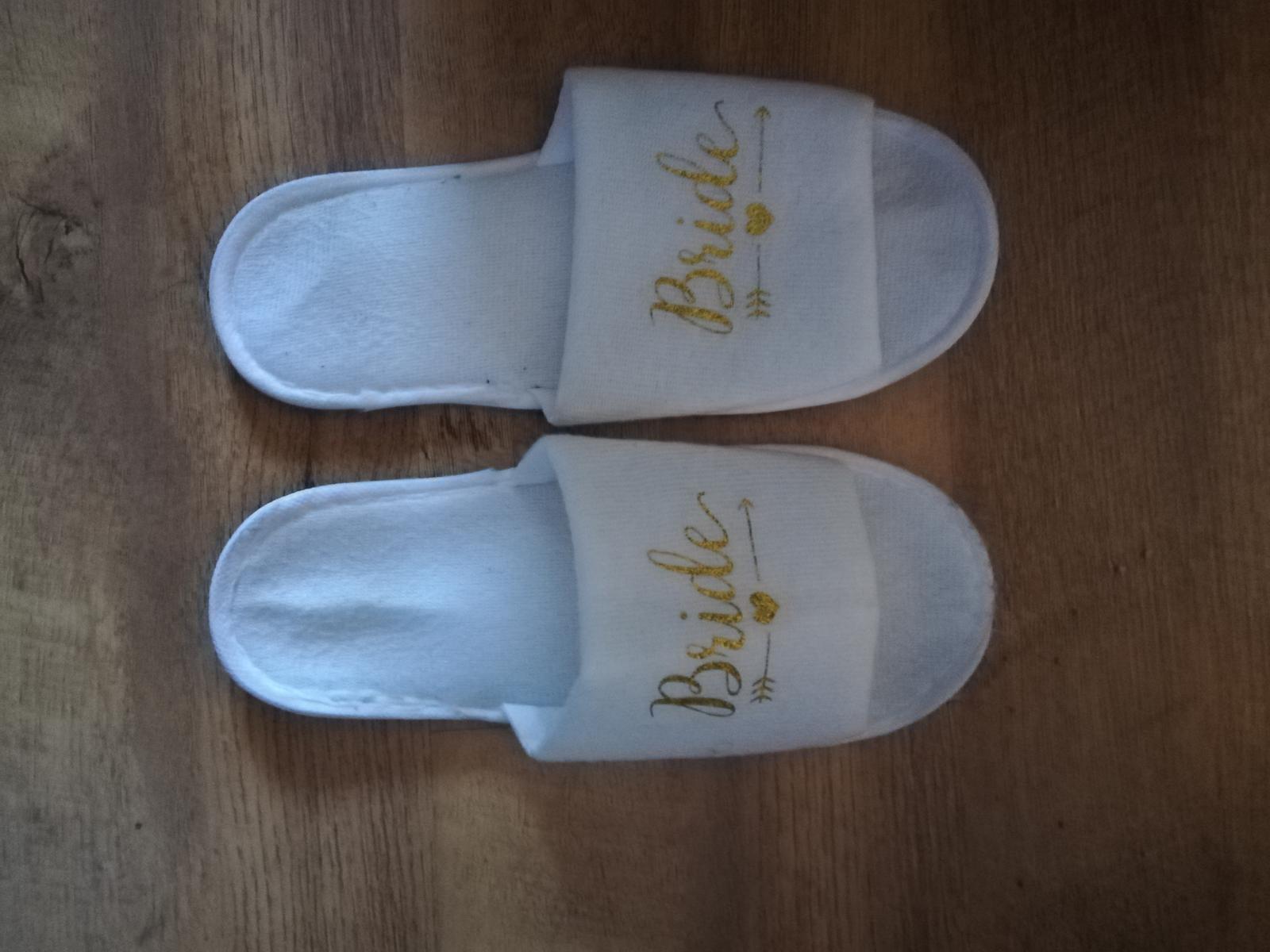 Papuče Bride - Obrázek č. 1