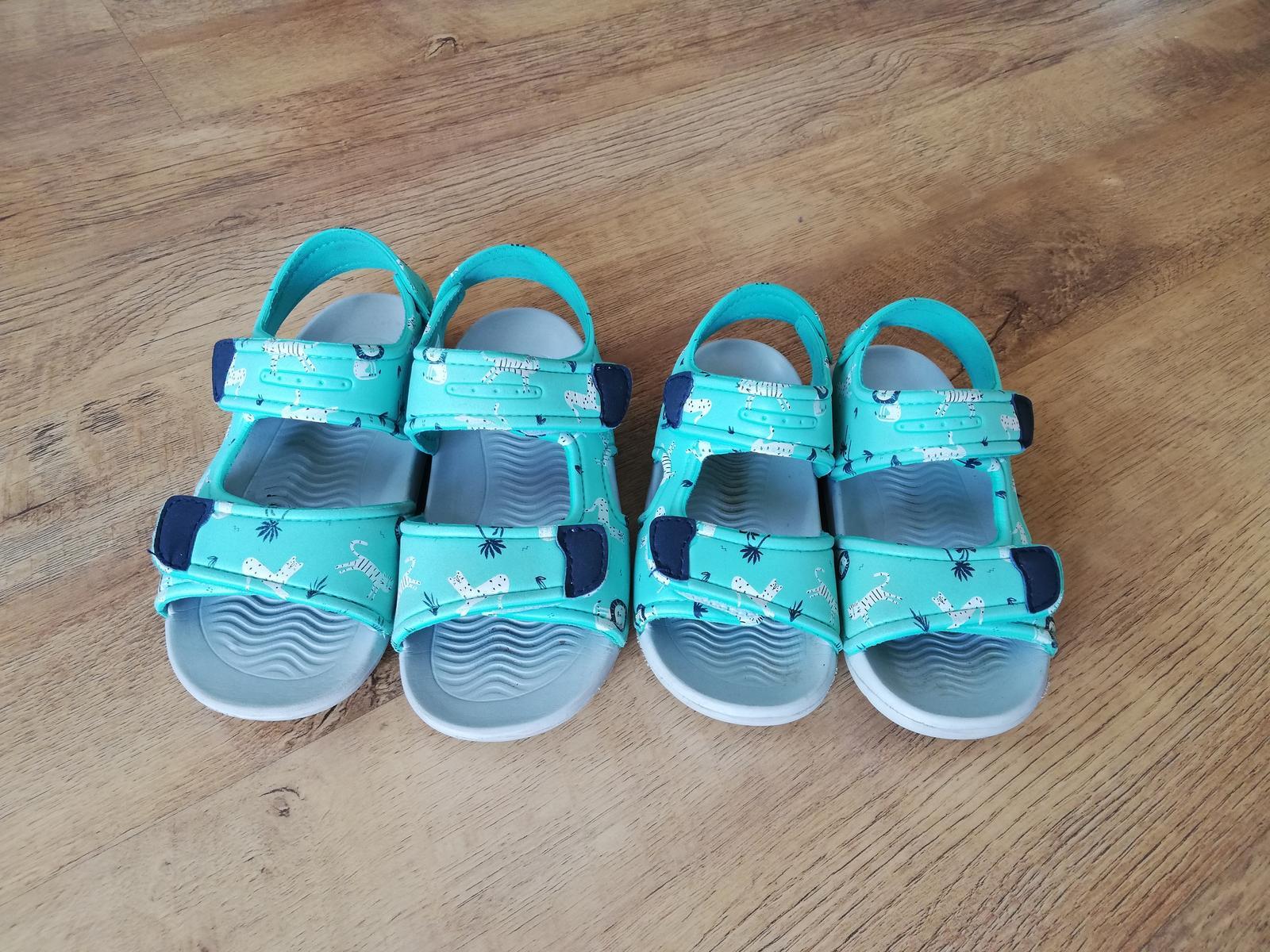Dětské sandálky - Obrázek č. 1
