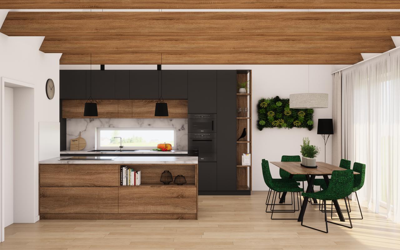 Vizualizacia kuchyna a obyvacka :-) - Obrázok č. 1