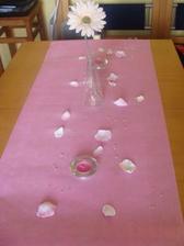 takhle nějak by měla vypadat dekorace stolu