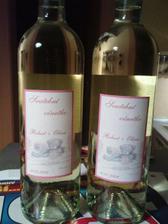 svatební vínečko