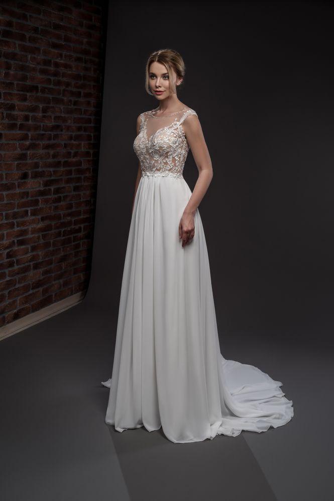 Svadobné šaty v salóne Brigit Boutique - Silvejn