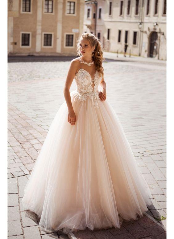 V svadobných šatách Klarissa sa budete cítiť ako princezná ♥♥♥ - Obrázok č. 2