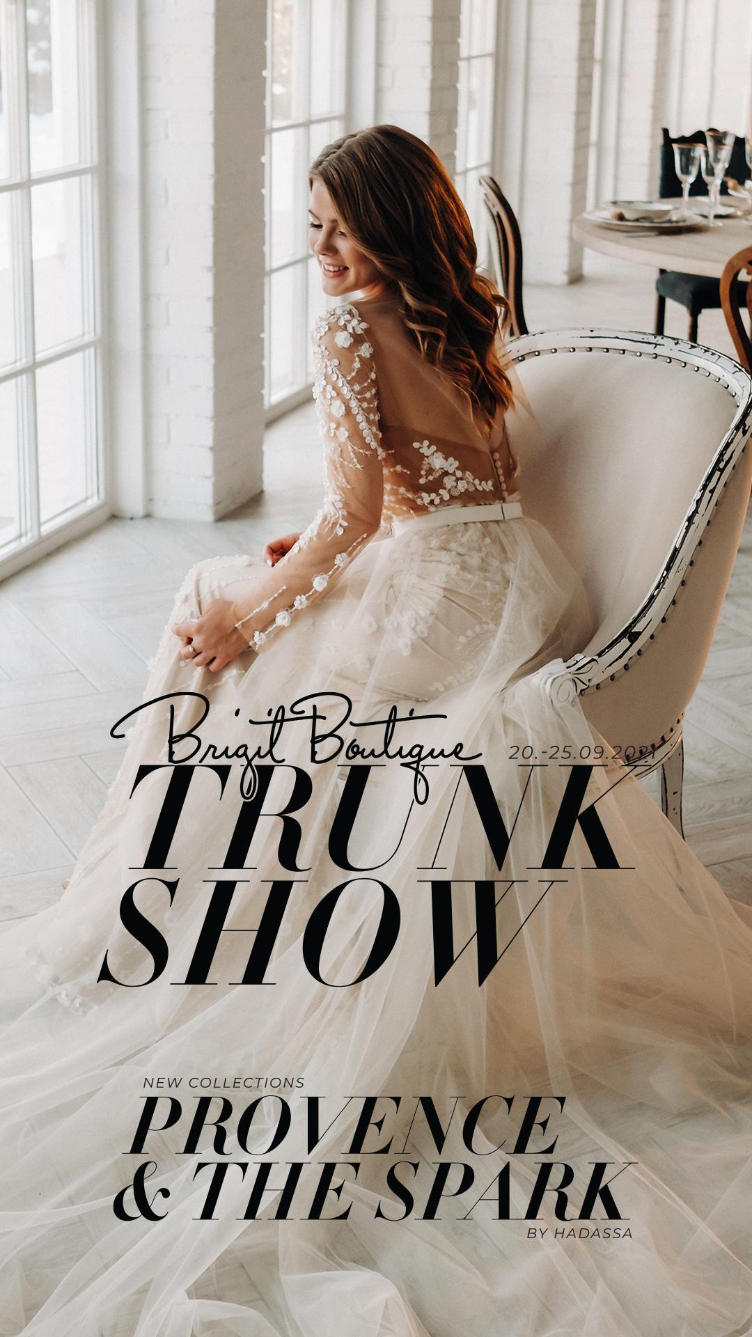 Nepremeškajte svoju šancu byť prvou, ktorá vyskúša nádherné svadobné šaty z najnovšej kolekcie PROVENCE a THE SPARK značky Hadassa pre rok 2022. ❤❤❤ - Obrázok č. 1