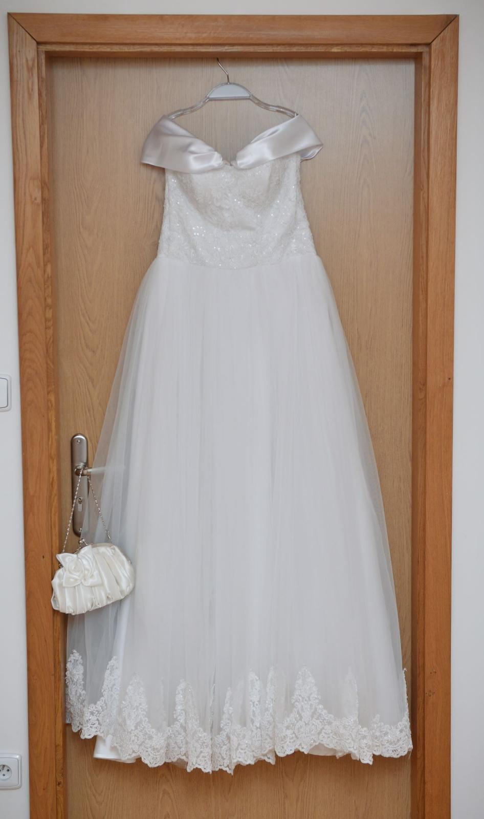 Svadobné šaty veľkosť 36 - Obrázok č. 2