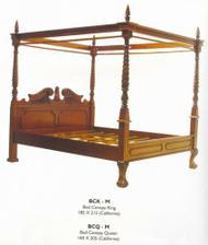 postel jako pro princeznu