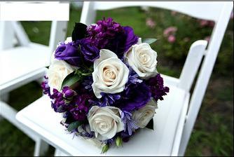 Konečná předloha pro svatební kytici :)