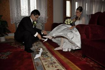 obuvanie topanociek