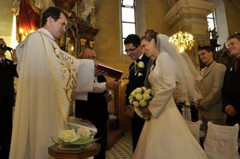 moja oblubena z kostola ...