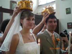 Kral a kralovna...aspon na chvili :-)