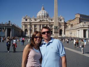 svatební cesta Řím