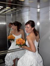 ve výtahu