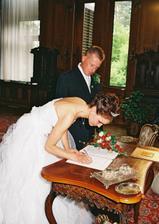 Poprvé podepsaná a na vždy Grygerová :-))