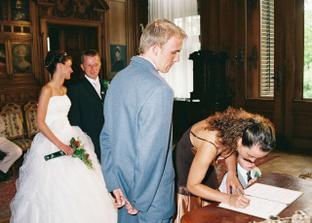 Svědkyně nevěsty Kačenka... Mééé dvojčátko..... :-)))