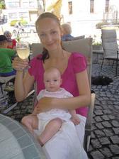Roční výročí s naší 3měsíční dcerkou :-)