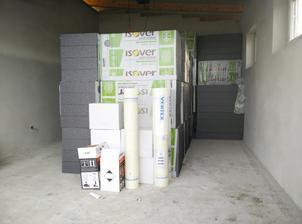 Polystyren na zateplenie domu uz nakupeny a uskladneny
