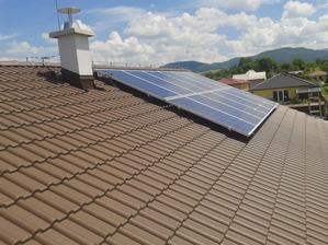 Fotovoltaika na mieste.