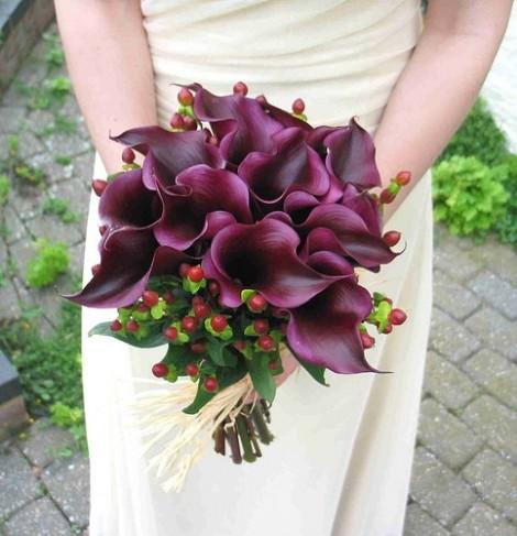 Svadobné kytice z kál - Obrázok č. 3