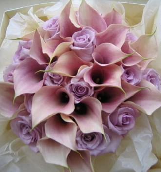 Svadobné kytice z kál - Obrázok č. 5