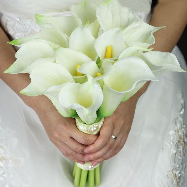 Svadobné kytice z kál - Obrázok č. 7