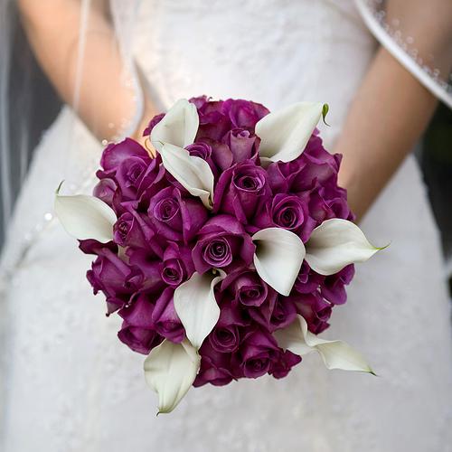 Svadobné kytice z kál - Obrázok č. 9