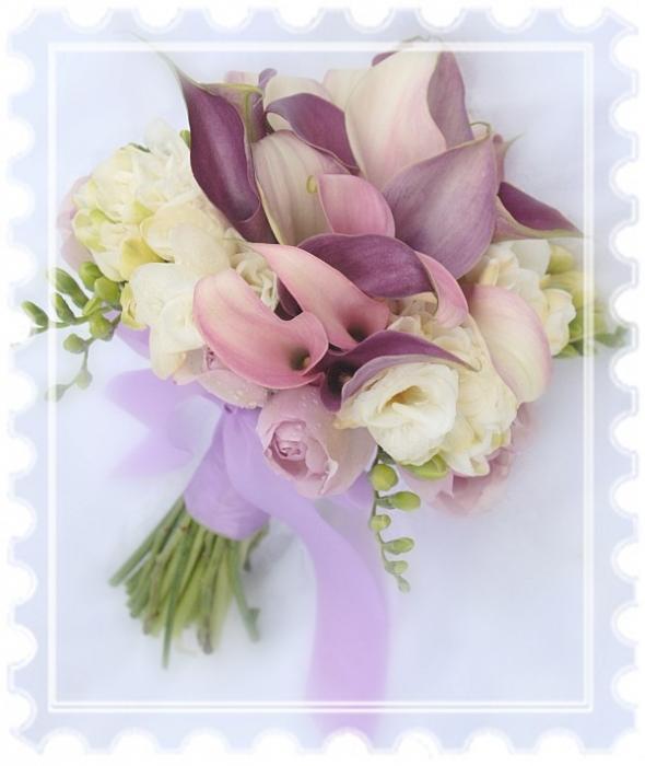 Svadobné kytice z kál - Obrázok č. 12