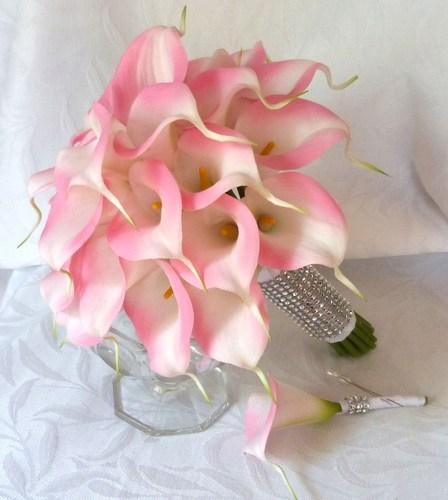 Svadobné kytice z kál - Obrázok č. 34
