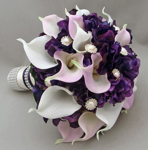 Svadobné kytice z kál - Obrázok č. 35