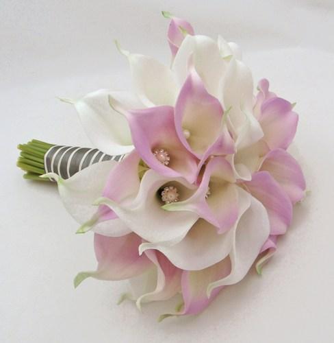 Svadobné kytice z kál - Obrázok č. 36