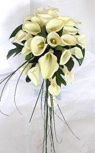 Svadobné kytice z kál - Obrázok č. 38