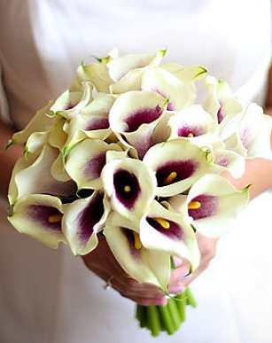 Svadobné kytice z kál - Obrázok č. 39