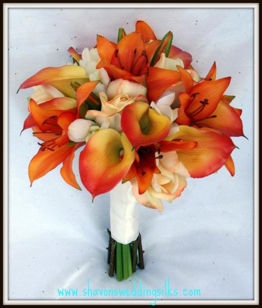 Svadobné kytice z kál - Obrázok č. 40