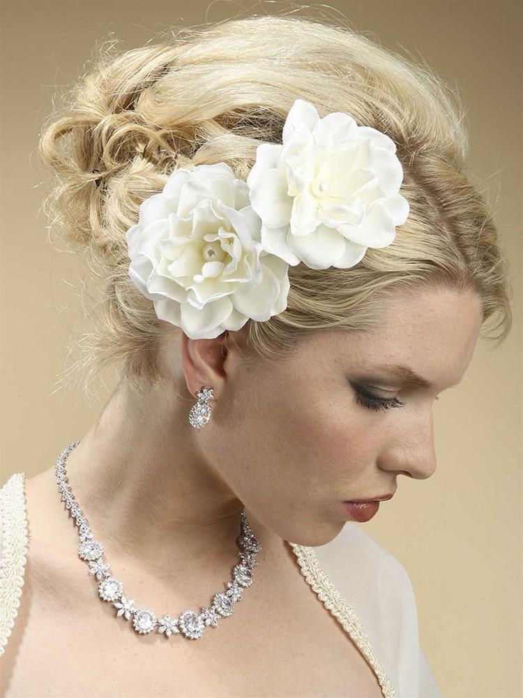 Svadobné účesy pre krátke vlasy - Obrázok č. 3